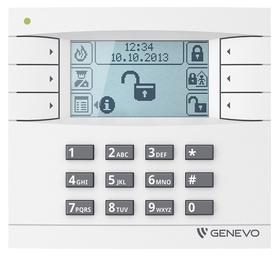 Manipulator graficzny LCD GENEVO do centrali PRiMA 16/64 WH-WH
