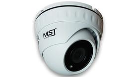 Kamera IP MSJ 2MPx 2,8mm POE kopułka biała/grafit