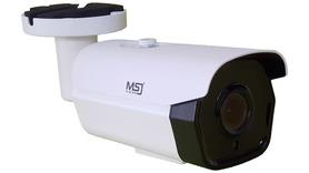 Kamera IP MSJ 3MPx 2,7mm-13,5mm tuba POE MOTO ZOOM biała/grafit