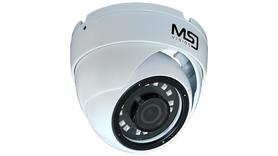 Kamera IP MSJ 8MPx 3,6mm kopułka POE biała