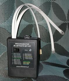 BT-101 Programator bezprzewodowy bluetooth do central alarmowych i nie tylko
