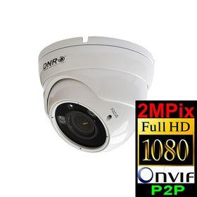 Kamera IP kopułkowa DNR IP766H 2.4MPw ARL 2 PoE 2,8-12mm