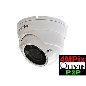 Kamera IP kopułkowa DNR IP766 4MPw ARL2 PoE 2,8-12mm jasna