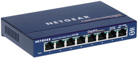 Switch Netgear GS108GE 8 port 10/100/1000