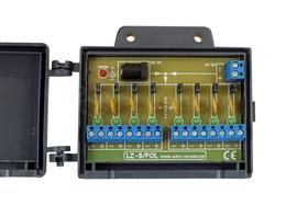 Listwa bezpiecznikowa - moduł 8 bezpieczników polimerowych w obudowie